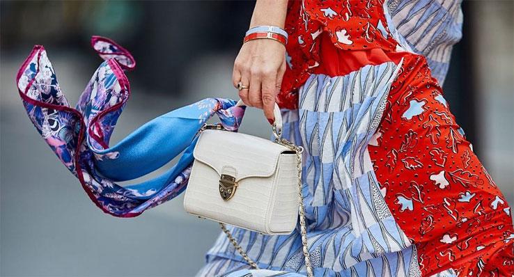 Aspinal of London Ivory Midi Mayfair Handbag