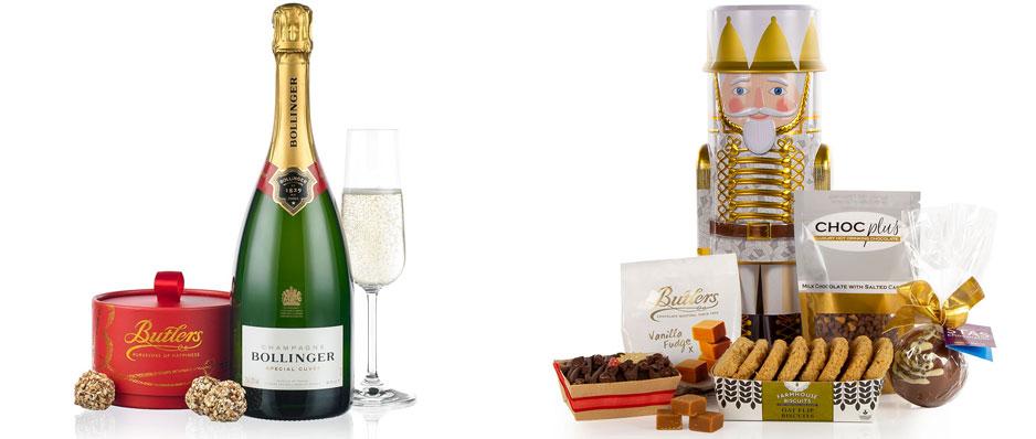 Bollinger and Chocolate & Nutcracker Tin Gift Set