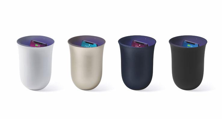 Lexon OBLIO charger colours