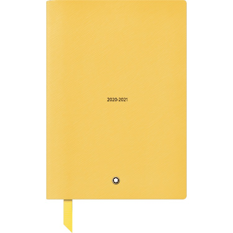 Montblanc Mustard Yellow #146 Fine Stationery 18-Month Weekly Diaries 20-21