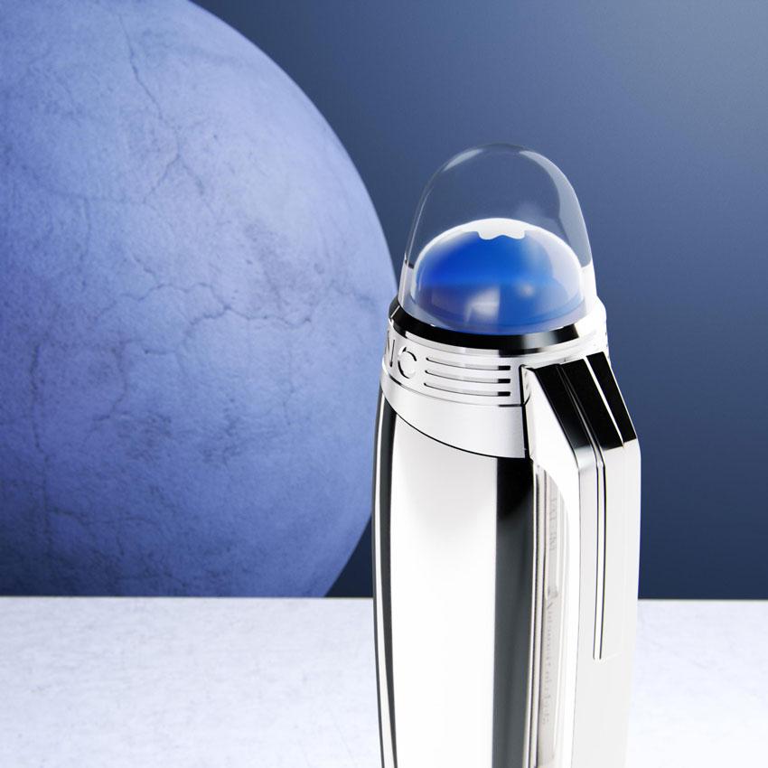 Montblanc StarWalker Blue Planet floating emblem