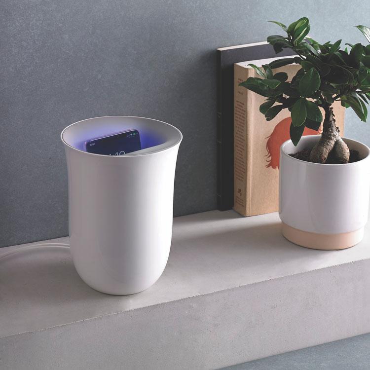 Lexon OBLIO White wireless charger