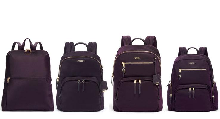 TUMI Blackberry Voyageur Backpacks