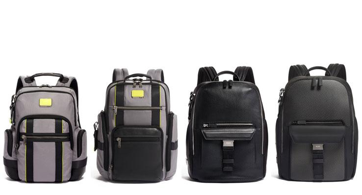 TUMI Lime Green & Ashton Backpack
