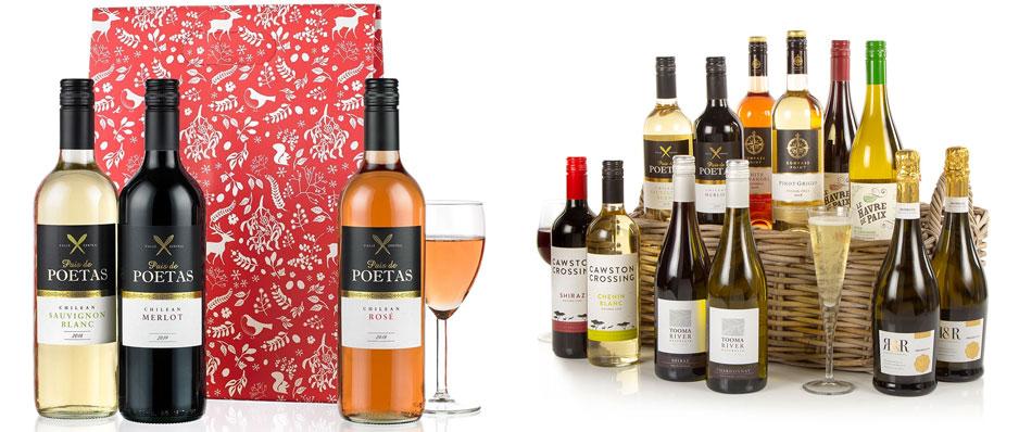 Triple Tipple & 12 Wines in Wicker