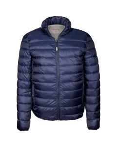 This TUMI PAX men's jacket comes in blue.
