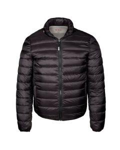 PAX Black Patrol Packable Travel Puffer Jacket