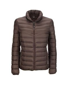 This TUMI PAX women's jacket comes in mink.