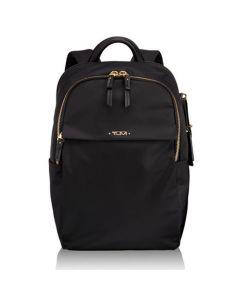 TUMI Voyageur black nylon small Daniella backpack.