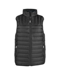 This TUMI PAX men's vest comes in black.