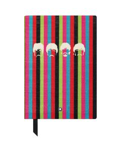 The special edition Beatles multi-striped notebook by Montblanc.