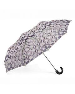 Aspinal of London monochrome compact umbrella.