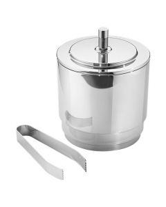 Georg Jenson Manhattan stainless steel ice bucket.