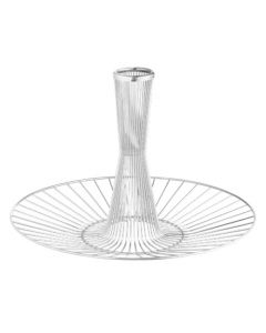 Georg Jensen Barbry stainless steel wire basket.