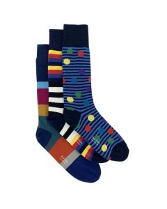 This pack of Paul Smith socks are made from a soft cotton material.