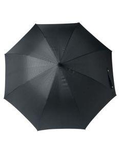 Open View of the hugo boss grid umbrella.