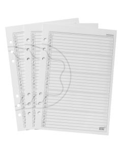 A5 50 White Premium Address Book Pages by Montblanc.