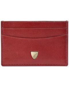 This is the Aspinal of London Cognac 4CC Smooth Slim Shield Card Holder.
