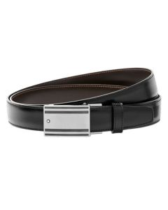 This is the Montblanc   Classic Line Black Brown Reversible Belt.