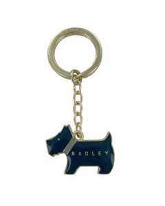 This Radley keyring comes in the shape of their famous dog logo.