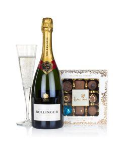 Bollinger Champagne & Chocolates Gift Set.