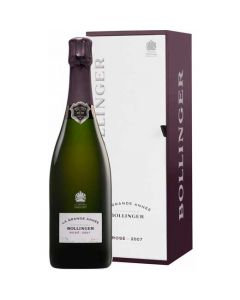 This is the Bollinger 2007 LA Grande Annee rose.
