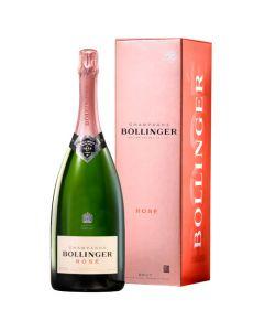 Bollinger Rosé Champagne 150cl Magnum Bottle.