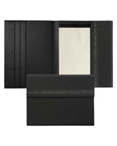 This is the Hugo Boss Ribbon A4 Black Folder.
