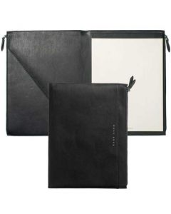 Black A4 Stripe Conference Folder