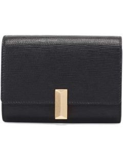 This is the BOSS Black Nathalie Saffiano Belt Bag with Detachable Chain Strap.
