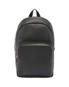 This is the BOSS Black Soft Grain Crosstown Backpack.
