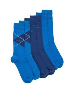 These are the Hugo Boss 3-Pack of Cotton Regular Length Socks.