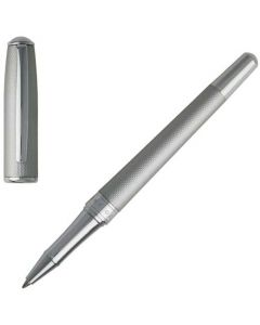 This chrome rollerball pen has been designed by Hugo Boss as part of their essential matte collection.