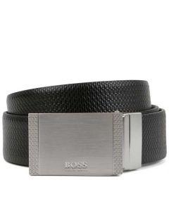 This is the BOSS Reversible Monogram Black Belt.