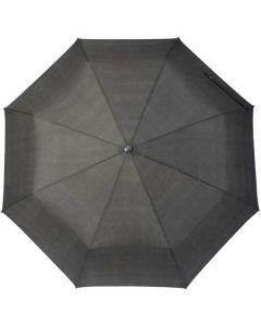 This umbrella has been designed by hugo boss.