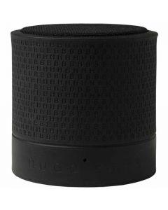 This black speaker has been designed by Hugo Boss.