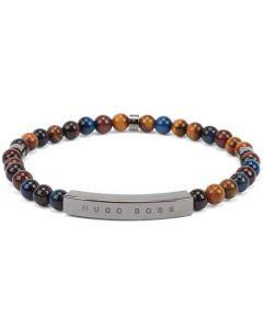 This is the BOSS Beaded Tiger Eye Bracelet.
