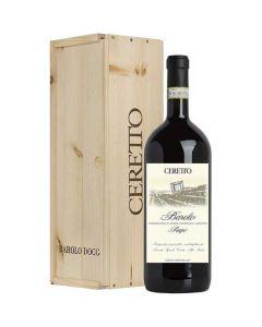 This is the Ceretto Barolo Prapo 2015 Magnum with decorative box.
