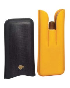 This is the Cohiba Maduro Magicos Leather Pouch.