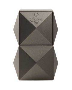 This is the Colibri Gunmetal Grey Quasar Table Lighter.
