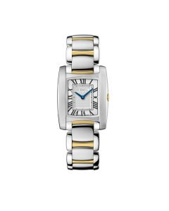 Ebel Ladies' Brasilias Mini Steel and Gold Watch.