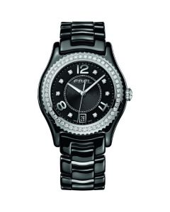 Onde Ladies Watch - X-1 Black Ceramic with Diamonds.