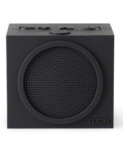 This dark grey silicone speaker has been created by Lexon for their Tykho collection.