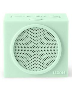 This mint green speaker is part of Lexon's Tykho collection.
