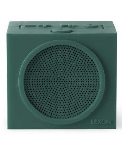 This dark green speaker has been created by Lexon as part of their Tykho range.