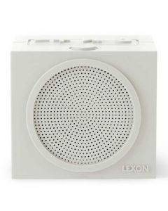 This off white speaker has been created by Lexon for their Tykho collection.