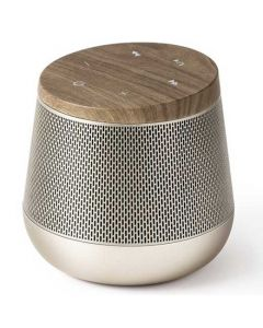This wood miami sound speaker has been designed by Lexon.