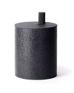 This black speaker has been designed by Lexon as part of their Cylindre collection.