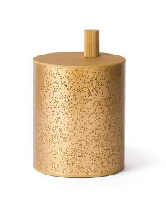 This gold speaker has been designed by Lexon for their Cylindre collection.
