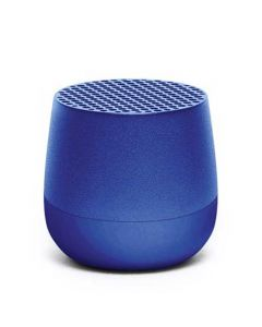 This blue mini speaker has been created by Lexon for their Mino collection.